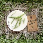 SLAPJA ZĀLE. Eko sojas vaska aromātplāksnīte ar zāles aromātu