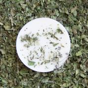 PIPARMĒTRA. Eko sojas vaska aromātplāksnīte ar piparmētras ēterisko eļļu