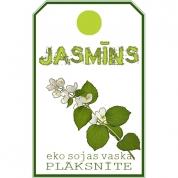 JASMĪNS. Eko sojas vaska smaržplāksnīte ar jasmīna ēterisko eļļu