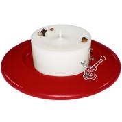 Svece KRUSTNAGLIŅU uz māla svečtura